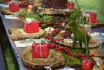 Vintage Christmas Tables