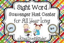 Literacy:  Sight Words, Spelling & Word Work / by Jeanette Cordova