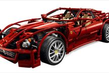 Lego Technic Supercars