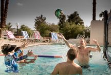 Caliente Springs Resort / Caliente Springs Resort is a premier natural hot water spring, RV site and vacation home resort located in Desert Hot Springs, California. This RV resort is a 55 and better community that appreciates the finer things in life. With mineral pools, tennis, shopping and many other activities, we promise you will never have a dull moment.
