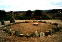Places of worship, sacrificial sites
