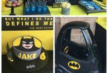batman bday party