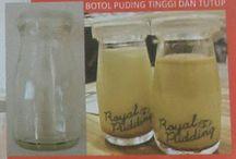 botol dan gelas kaca