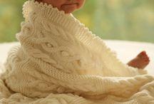 Knitting baby blankets / by Karen DeWar