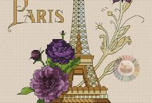 Haft Krzyżykowy - Paryż