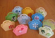 Geschenkverpackungen / Süße Verpackungen für kleine Geschenke hergestellt in Handarbeit