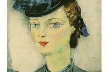 Portretten met hoeden