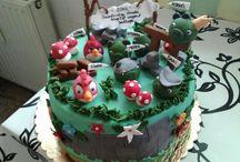 saját munkáim....cukorvirágok,torták