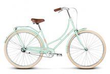 Fashionable urban bike styling