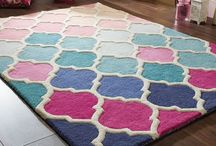 Pantone Colour of The Year 2016 / Pantone's colour of the year is Rose Quartz & Serenity. We're pulling together images of our rugs that feature these colours tones here.
