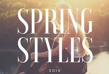 { Spring Styles } / The perfect combination of spring fashion in one board.