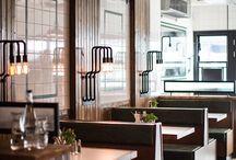 Social spaces, hotels, restaurants