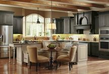 Dark Kitchen Cabinets - Kitchen Cabinet Outlet Queens NY / One of the most popular modern design and décor trends is dark kitchen cabinetry. Kitchen cabinets in rich, dark brown wood tones can give any kitchen an upscale feel.