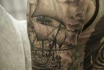 Tattoo seilskip