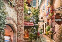 romantikusan a város