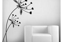 dibujos paredes