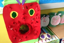 Caterpillars and Butterflies / Life Cycle of the Butterfly / The Very Hungry Caterpillar (Eric Carle)