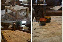 Hjemmelagde møbler