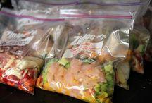 Crockpot make ahead frozen meals