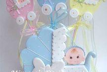 Baby cake cookies & cupcake