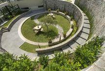 Contemporer garden / Desain taman kontemporer