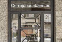 Puertas para comunidades / algunos modelos para entradas en portales de edificios