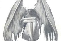 angel bocetos