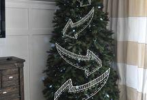 Boże Narodzenie / Piękne ozdoby świąteczne. Wigilia i Boże Narodzenie.