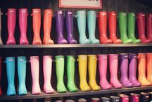 botas de chuva Hunter