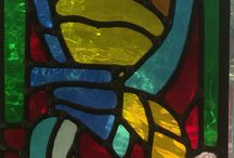Stained Glass / My own glass work as well as that of other artists I like.