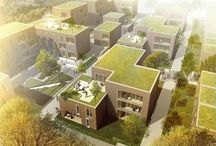 Housing in Lübeck / D + W has in collaboration with WE architecture and Topos Landskabsarkitekter won the 1st prize in the invited competition for approx. 20,000 m2 of housing in Lubeck, Germany. The new residential area will consist of senior housing, student housing, public housing and apartments.
