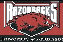 Razorbacks / by Stephanie Brown