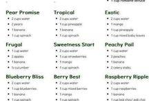 Resepte vir smoothies