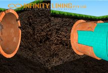 Pipe relining Sydney / pictures of pipe relining in Sydney from Infinity Lining Pty Ltd