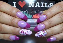 nails uñas