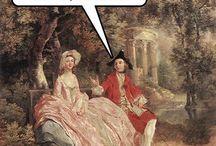History and art humor / Nerd humor. History, art, music, politics