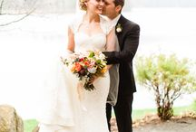 Karen & John Wedding / Garden inspired wedding in the beautiful Mount Tremblant, Quebec at the Hotel Quintessence.