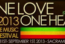 One Love One Heart Festival 2013 / One Love One Heart Festival 2013 Sacramento, CA Reggae, Reggae, Reggae Abja & The Lionz of Kush,Prezident brown, Glen Washington, ALika, Danny I, Army, Misael, Valufa, & more