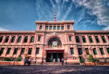 SAIGON CENTRAL POST OFFICE, Ho Chi Min / Located in the heart of Ho Chi Minh City's District 1, the Central Post Office is one of the city's oldest buildings, an attractive destination for local and foreign visitors in #Vietnam.