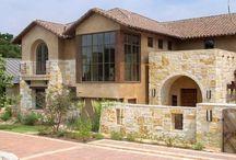 Fachadas rústicas con piedras