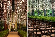 Iluminação casamento