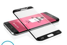 GALAXY S6 EDGE SCREEN PROTECTOR, PUNKCASE GLASS SHIELD ! / Galaxy S6 Edge Screen Protector, Punkcase Glass SHIELD Samsung Galaxy S6 Edge Tempered Glass Screen Protector 0.33mm Thick 9H Glass Screen Protector Punkcase Glass SHIELD is build with the highest quality tempered glass to obtain the best HD clear visibility. Punkcase Glass SHIELD covers the whole screen unlike other screen protectors from competitors. It also has 2.5D rounded edges, 0.33mm thick and has 9H hardness for superior