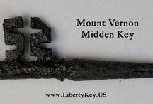 antique keys / Book -- George Washington's Liberty Key:  Mount Vernon's Bastille Key --  the Mystery and Magic of Its Body Mind and Soul  -- (Character, Culture, Constitution)