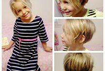 Little girls hair cut