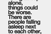 don't...just don't feel like being alone is a bad thing, ok!