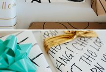 Writing & Wrapping /   / by Meghan Matthews