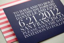 WEDDING | Invites / by Carolyn Kach