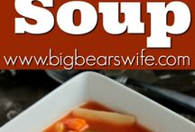 Soups, Stews, Chili / North Carolina recipes for soup, stew and chili by NC writers and chefs