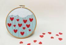 Hímzőkeret - Embroidery hoop