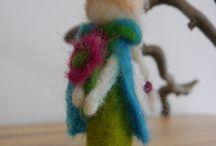 Made by me - buntFALTER Filz Felting / Hier teile ich einige meiner selbst gestalteten Filz-Objekte.